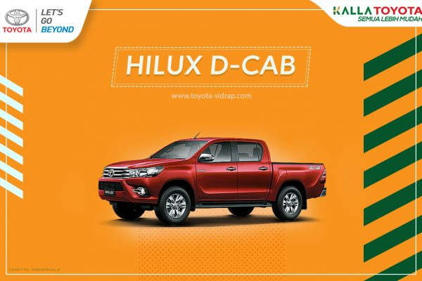 All New Hilux D Cab
